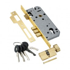 Замок Adden Bau LOCK 4585 5 60B D GOLD