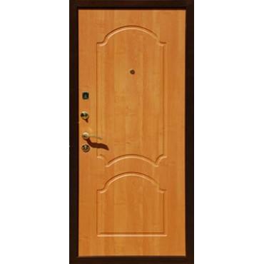Металлическая дверь Черный Крокодил